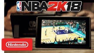 NBA 2K18 Launch Trailer ???? - Nintendo Switch