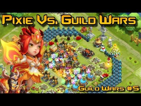 8/8 Deadly Strike Skull Knight & Pixie Vs. Guild Wars