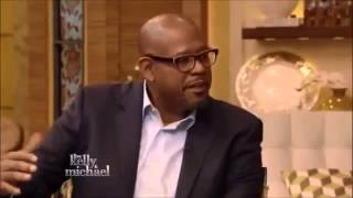 """FOREST WHITAKER interview Live with Kelly and Michael  Movie """"Taken 3"""""""