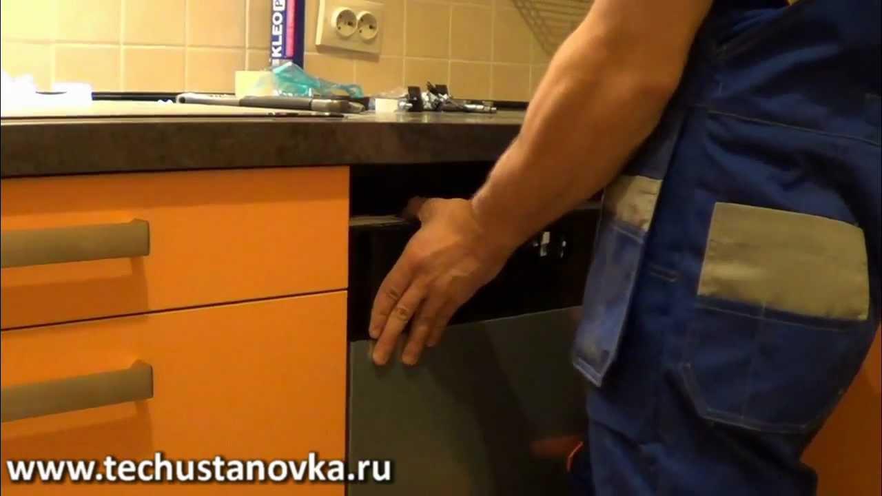 посудомоечная машина bosch встраиваемая инструкции