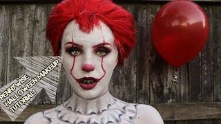 PENNYWISE HALLOWEEN MAKEUP TUTORIAL!