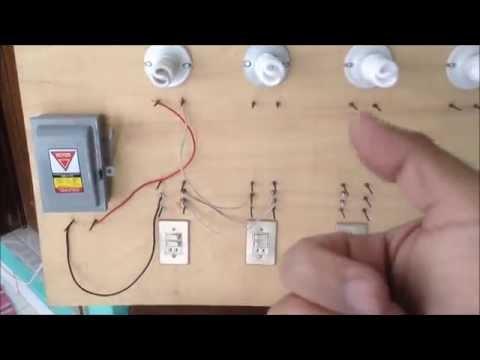 Como conectar dos lamparas en serie instalaciones - Como instalar lamparas led ...