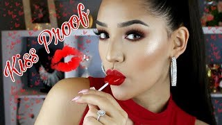 Kiss Proof Valentine's Day Makeup
