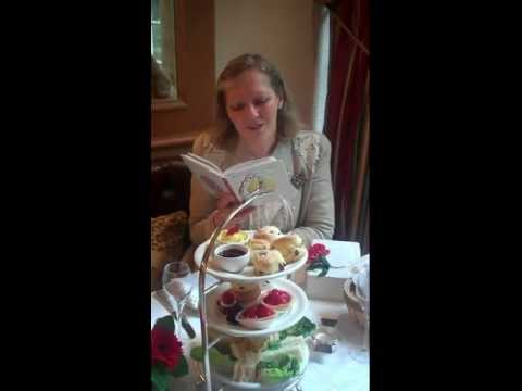 British Tea Poet Elizabeth Darcy Jones at The Chesterfield Mayfair