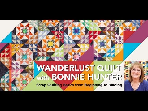 Quilting Tip from Bonnie Hunter- Cutting Fabric