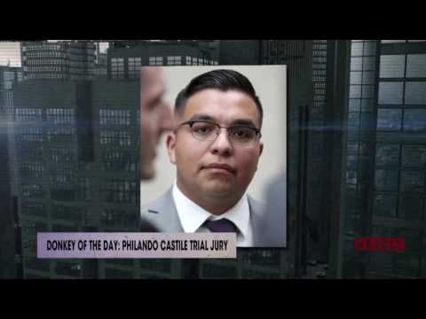 Philando Castile trial jury | Donkey Of The Day