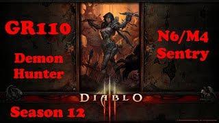 �������� ���� Diablo 3 - GR110 Demon Hunter N6/M4 Sentry Season 12 ������