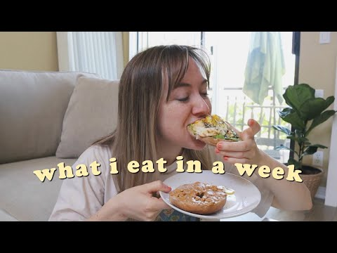 what i eat in a week healthy