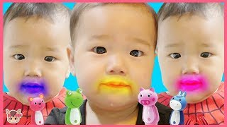 치카치카 양치송 다같이 해요! 인기동요 색깔놀이 놀이 Learn Colors with Brush Your Teeth! Kids Song Nursery Rhymes