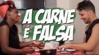 A CARNE É FALSA - PARÓDIA FELIPE ARAÚJO (PART. HENRIQUE E JULIANO) - A MALA É FALSA