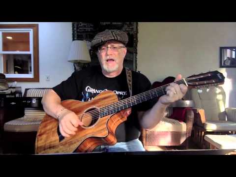 1636 -  Midnight In Montgomery -  Alan Jackson cover with guitar chords and lyrics
