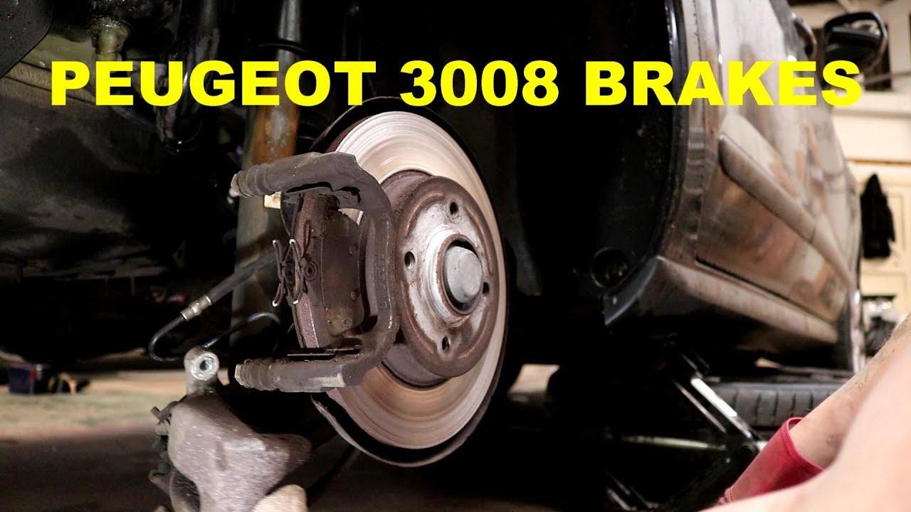 rear brake pad replacement peugeot 3008 rcz amp citroen c4