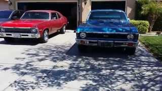 CHEVY NOVA BUILD PT 27 3.42 POSI TRACTION INSTALLED BURNOUT