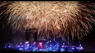 Tomorrowland Brasil 2015 Hardwell Fireworks