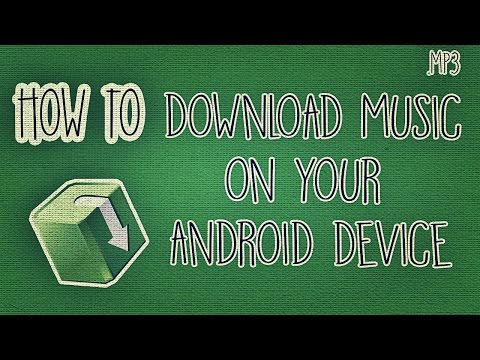 How to Download Music on your Android Device (for FREE!)