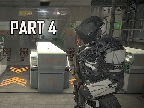 Deus Ex Mankind Divided Walkthrough Part 4 - Claiming Jurisdiction (PC Ultra Let's Play)