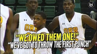 Chase Adams and Underrated Frontcourt have Orr Playing for History! #2 Orr vs #3 Curie Highlights!