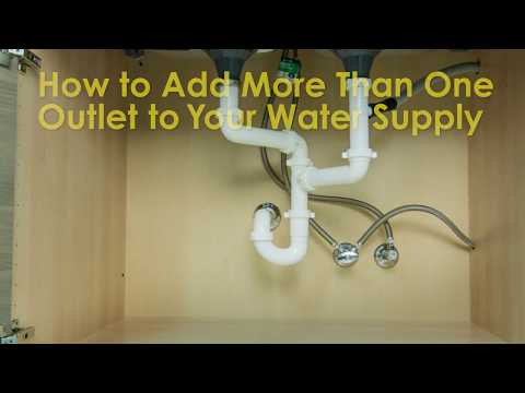 How to Add More Than One Outlet to Your Water Supply