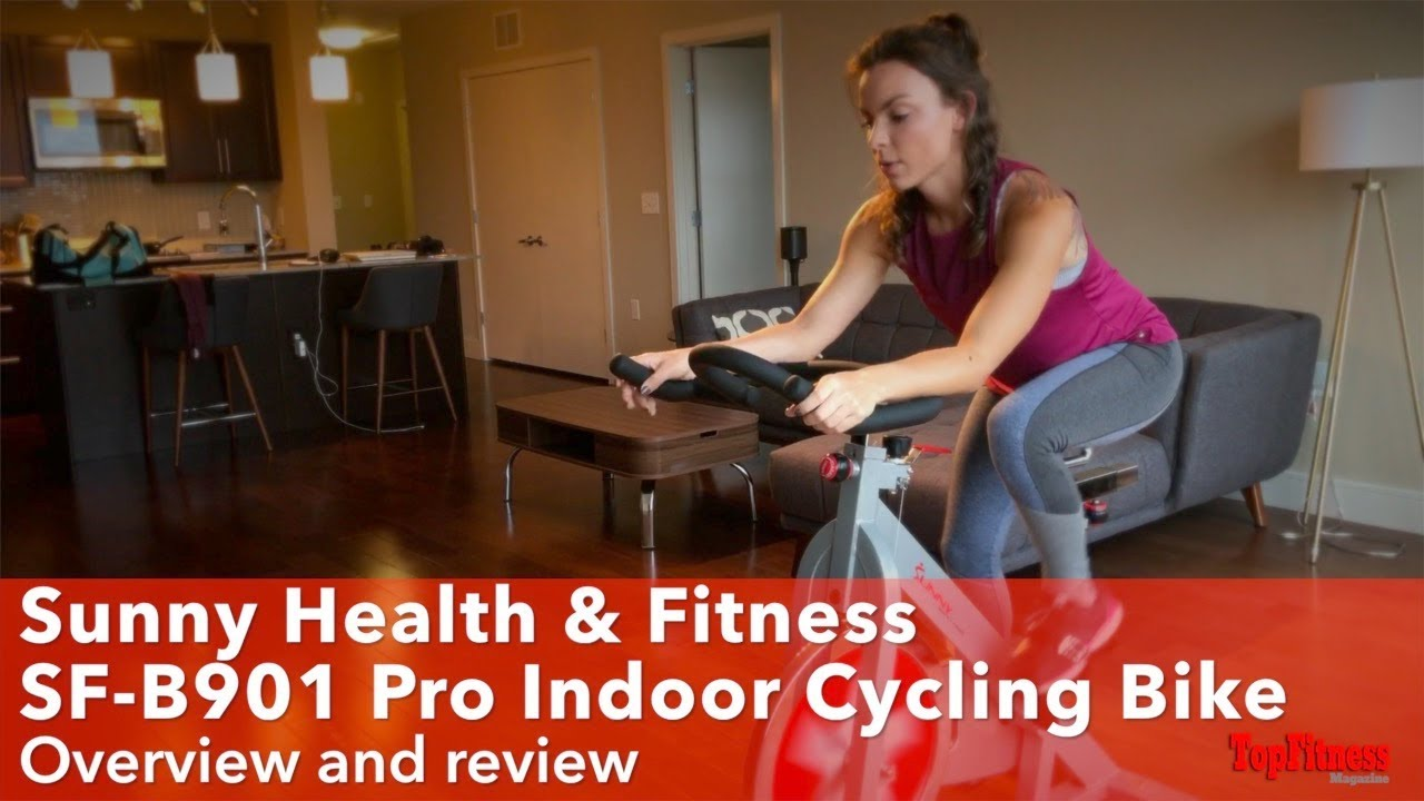 Sunny Health & Fitness SF B901 Pro Indoor Cycling Bike Review