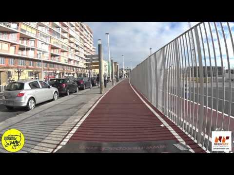 Cycling by Santander