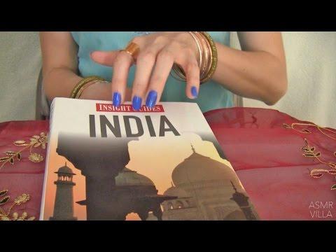 ASMR * Tapping & Scratching * Theme: Travel to India * Fast Tapping * No Talking * ASMRVilla