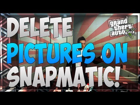 GTA 5 Online: How To Delete Pictures On Snapmatic! - Remove Gallery Photos (Easy & Fast)
