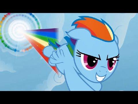 ПОНИ РАДУГА ИЩЕТ ПРОПАВШИЕ КЬЮТИМАРКИ. 1часть. My little pony мультик игра.