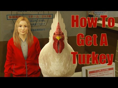 Yakuza 0 – Bowling – How to Get a Turkey