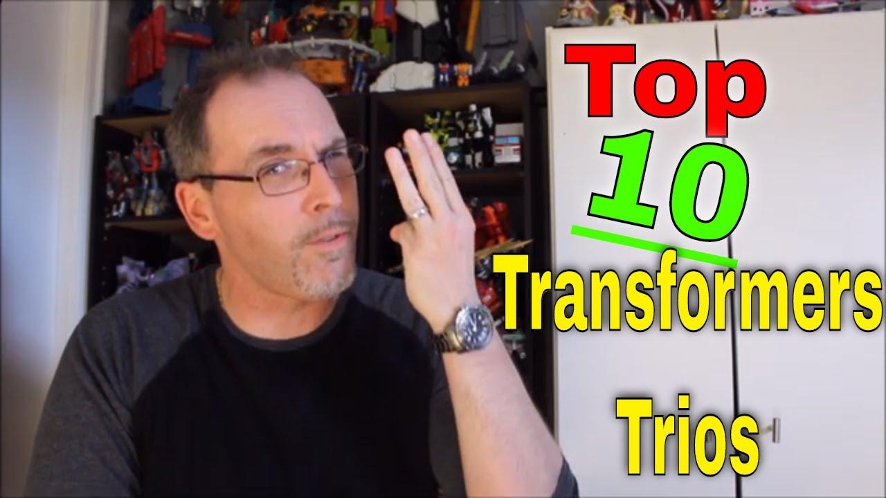 GotBot Counts Down: Top 10 Transformers Trios!