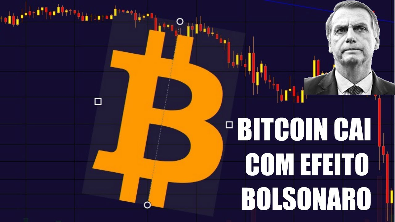 "BITCOIN cai com ""efeito Bolsonaro""! Entenda os motivos"