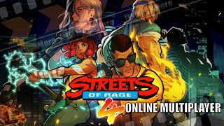 Streets of Rage 4 - First Online Multiplayer Gameplay | Xbox One Game Pass