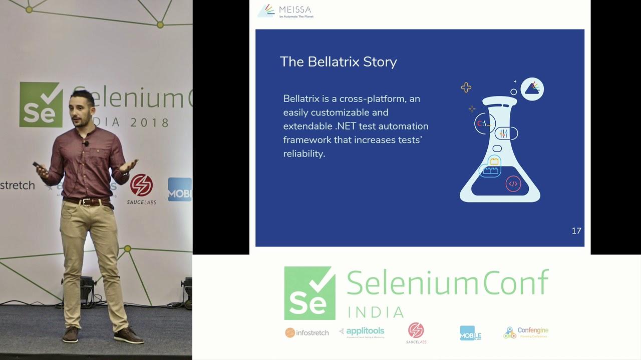 Selenium Conf 2018 - Infinite Improbability Testing- Execute