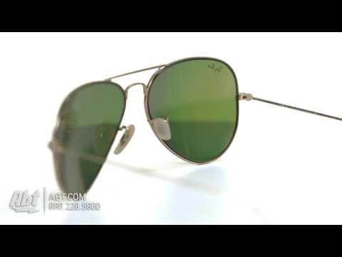 Ray-Ban Aviator Gold Unisex Sunglasses RB3025 112/69 58 - Overview