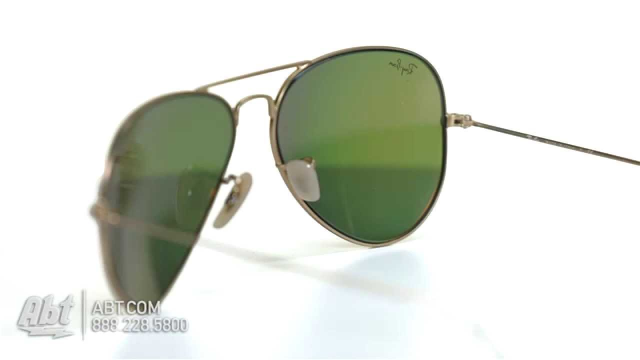ebeb825697 Ray-Ban Aviator Gold Unisex Sunglasses RB3025 112 69 58 - Overview ...