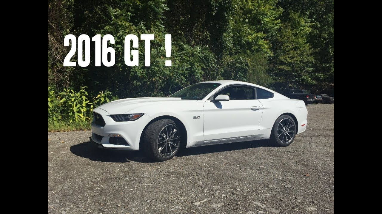 2016 Ford Mustang GT Review And Test Drive - (Base Model) W/Auto ...