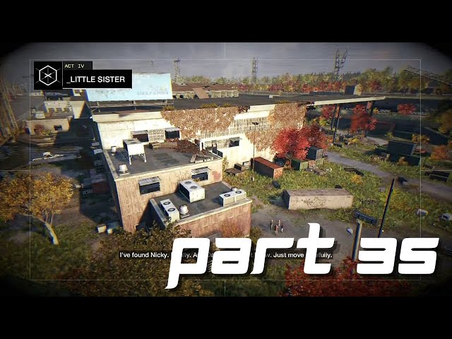 Watch Dogs Gameplay part 35 - Little sister