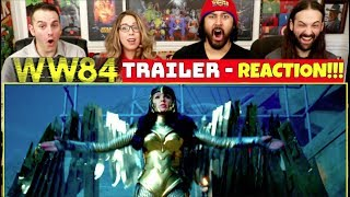 WONDER WOMAN 1984 - TRAILER REACTION!!!