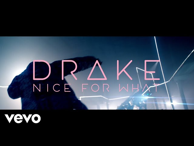 Drake anuncia su regreso con el tema Nice For What