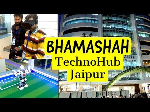 BHAMASHAH Techno Hub Jaipur I India's BIGGEST Techno Hub Visiting I GlobeTrotter I