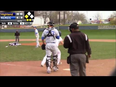 Highland Baseball vs. Kansas City Kansas CC- Game 2