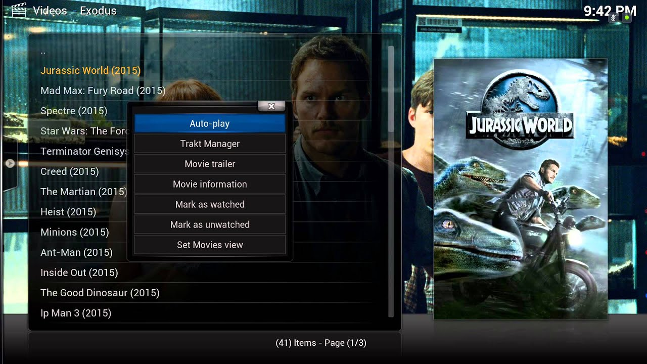 kodi exodus how to find my favorites