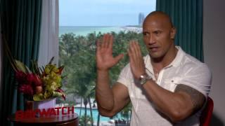"Baywatch: Dwayne Johnson ""Mitch Buchannon"" Official Movie Interview"