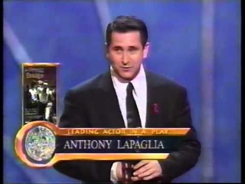 Anthony LaPaglia wins 1998 Tony Award for Best Actor in a Play