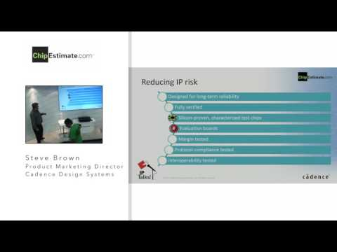 Design IP Solutions, Cadence – IP Talks! DAC 2016