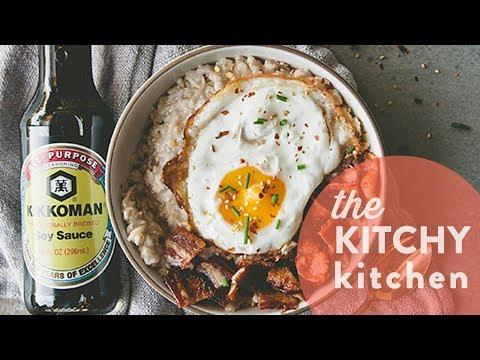 How to Make Savory Porridge // Living Deliciously with Kikkoman
