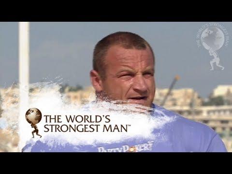 2009 Dead Lift: Savickas v Pudzianowski | World's Strongest Man