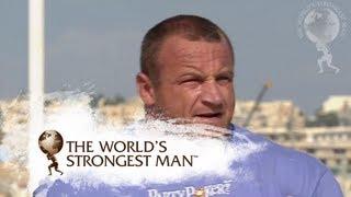 2009 World's Strongest Man | Deadlift: Savickas v Pudzianowski