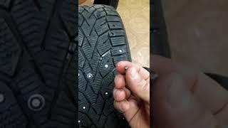 видео Самостоятельная шиповка зимних шин