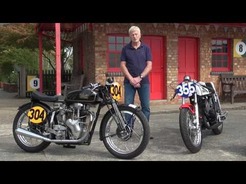 John Bottomley And His 1939 Velocette MOV