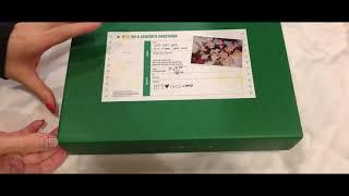 BTS 防彈少年團2019 SeasonsGreetings 年曆開箱 방탄소년단